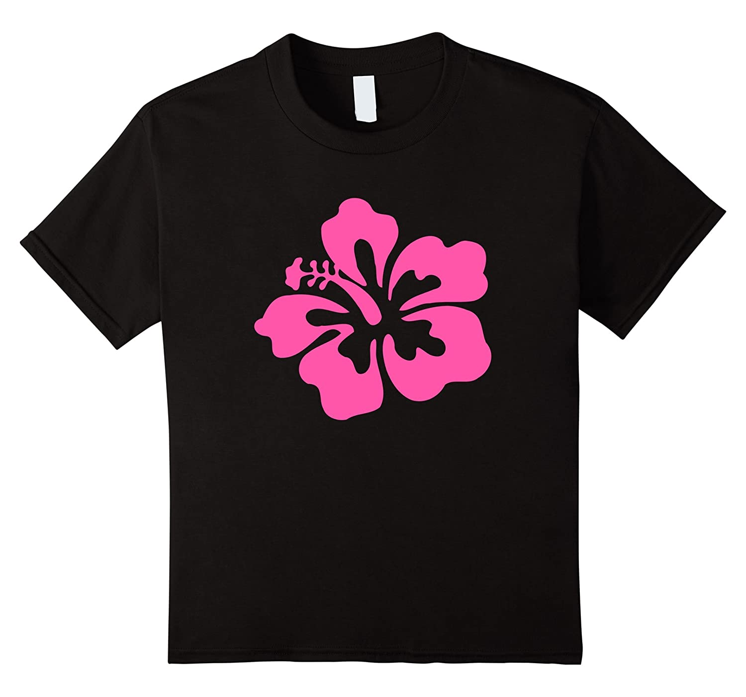 Amazon Pink Hibiscus Hawaiian Flower T Shirt Clothing