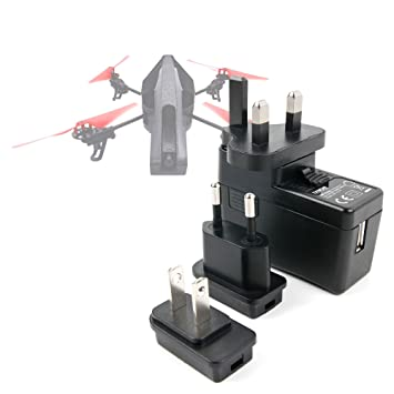 DURAGADGET Kit De Adaptadores con Cargador para Dron Parrot AR ...