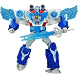 Now Available ! Robots in Disguise Power Surge Optimus Prime and Aerobolt , Action Figures
