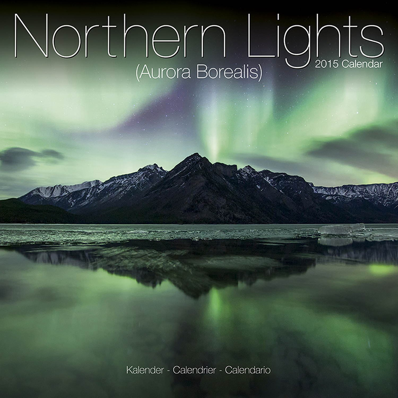 Northern Lights Calendar   Aurora Borealis Calendar   2015 Wall Calendars    Photo Calendar   Monthly Wall Calendar By Avonside: MegaCalendars: ...