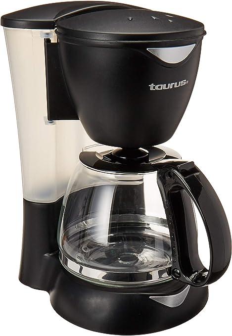 Taurus Coffeemax 6 - Cafetera, 650W, Negro, 6 Tazas