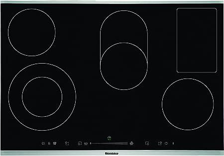 Blomberg MKX 74432 X - Placa vitrocerámica (Ceran, 77 cm de ancho, controles táctiles, cuentaminutos)