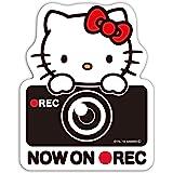 セイワ(SEIWA) ハローキティ後方サインステッカー KT533 B&G ドライブレコーダー録画 HELLO KITTY