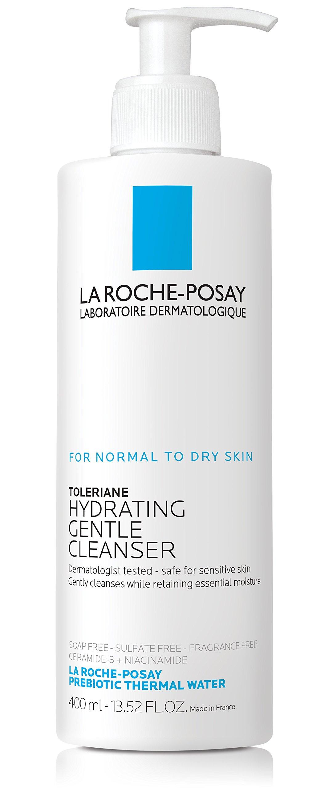La Roche-Posay Toleriane Hydrating Gentle Cleanser, 13.52 Fl. Oz. by La Roche-Posay