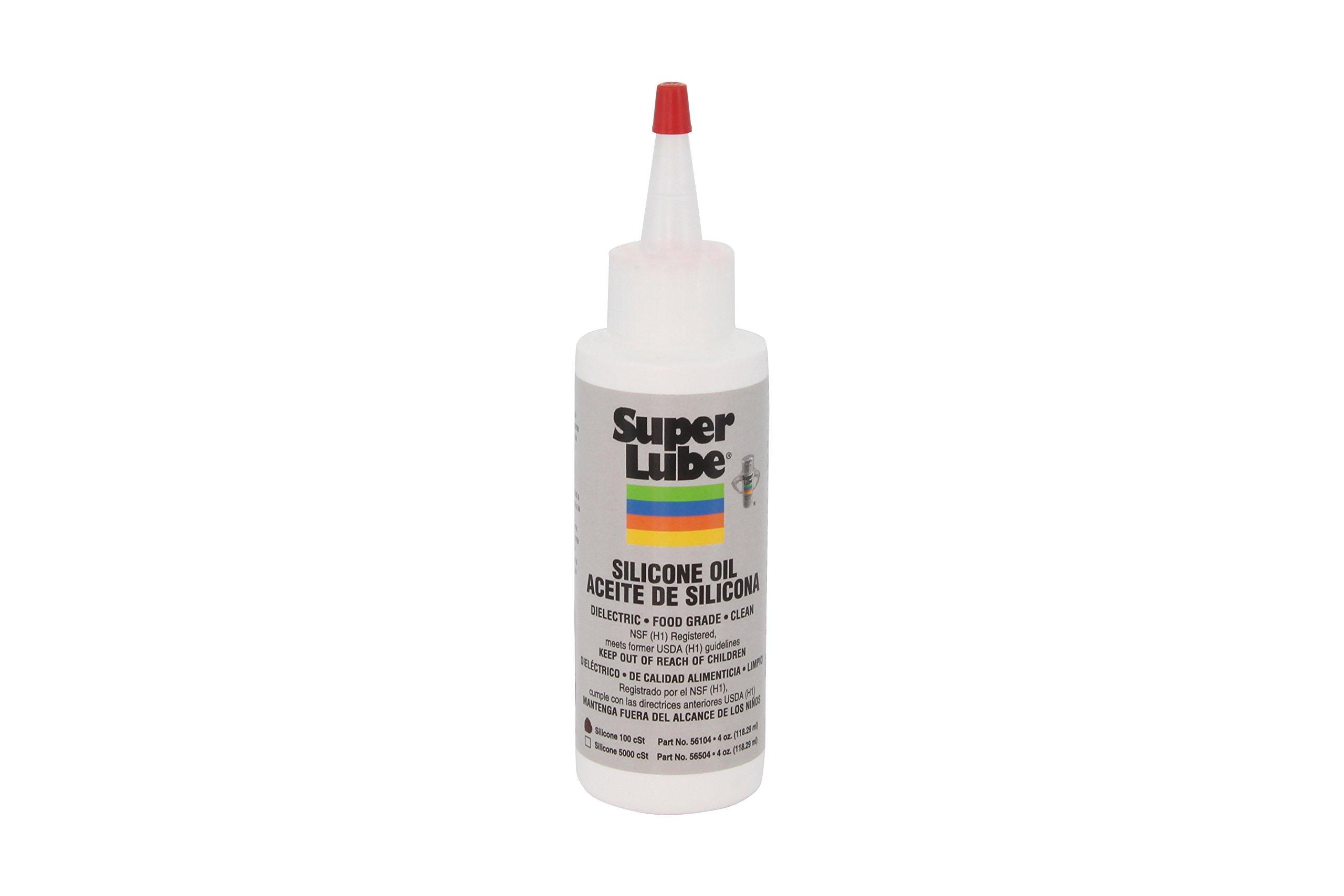 Super Lube 56104 Silicone Oil 100 CST, Clear