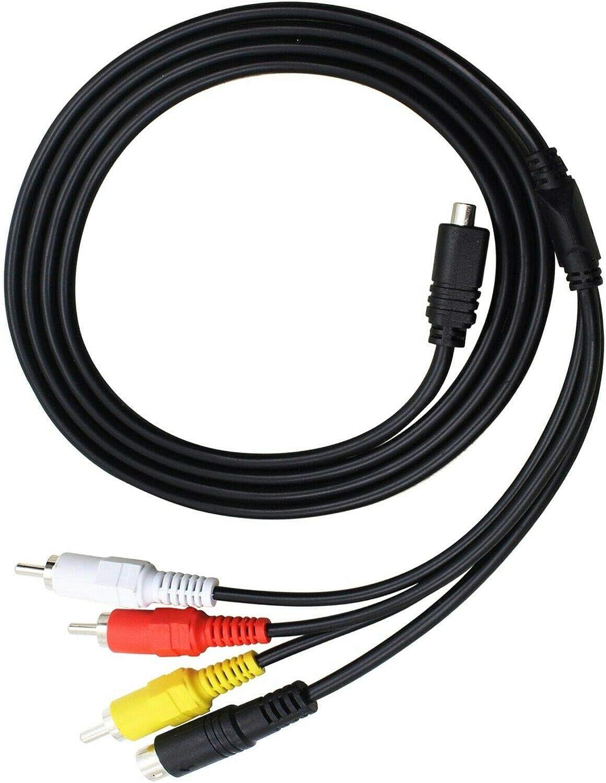 USB Cable//Cord for Sony Camcorder Handycam DCR-SR300//E DCR-SR78 AV A//V TV Video Taelectric