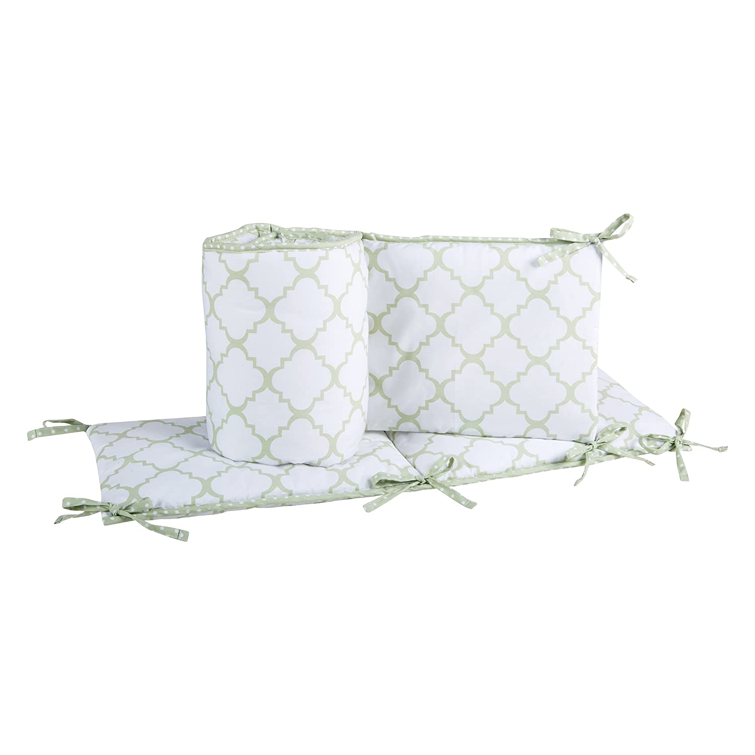 Trend Lab Sea Foam Crib Bumpers, Sage 101677