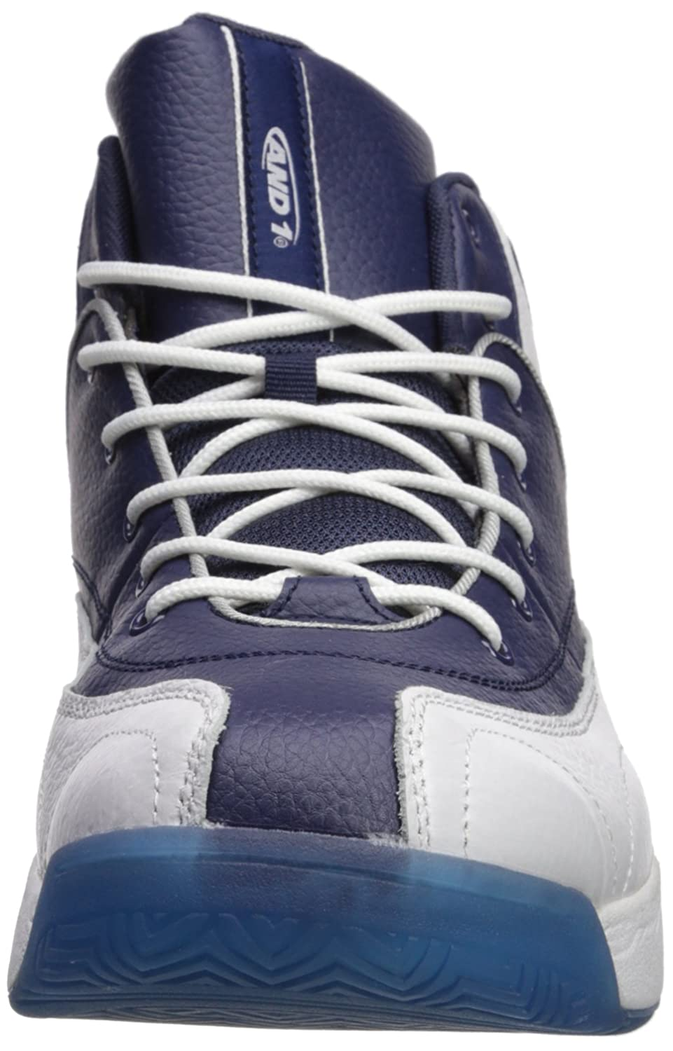 AND1 and 1 Men's Coney Island Classic Basketball Shoe, Navy/Royal Blue/White,  8 M US: Amazon.co.uk: Shoes & Bags