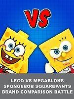 LEGO vs MegaBloks SpongeBob SquarePants Brand Comparison Battle