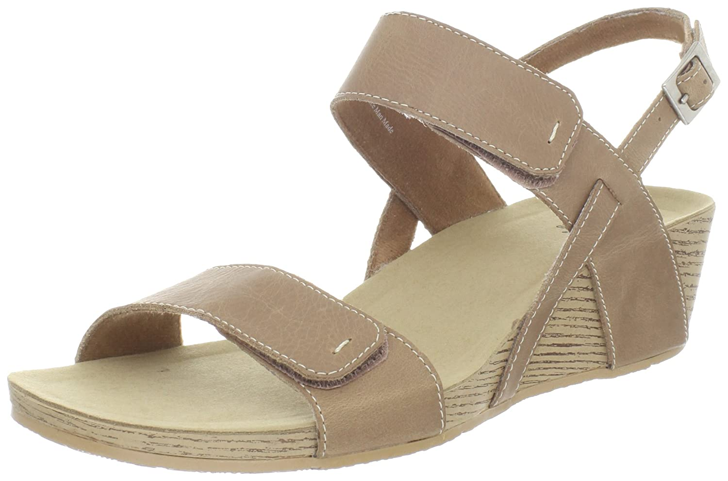 Amazon.com | Clarks Women's Clarks Alto Disco Wedge Sandal, Beige, 9 M US |  Platforms & Wedges