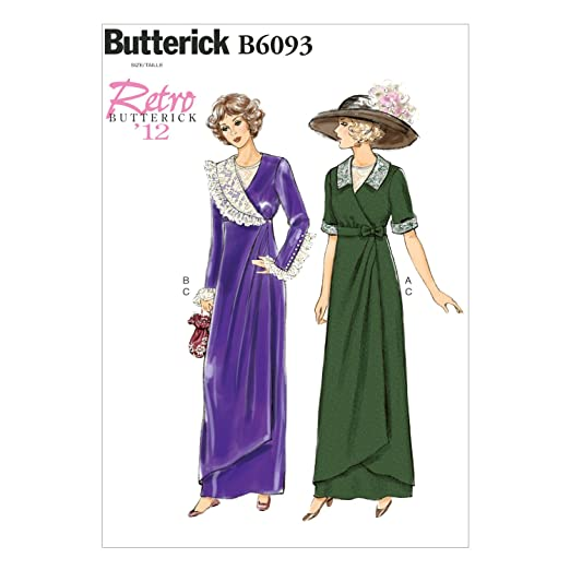 Edwardian Sewing Patterns- Dresses, Skirts, Blouses, Costumes 1912 Misses Dress Belt and Bib Size A5 $11.75 AT vintagedancer.com