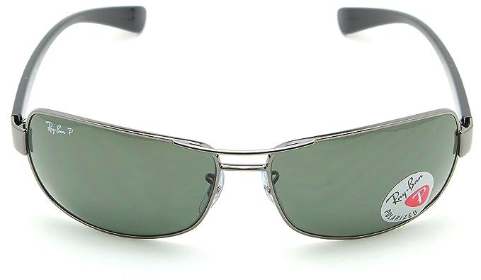 d9976497640 Amazon.com  Ray-Ban RB3379 004 58 Mens Polarized Sunglasses Green Classic  Lens