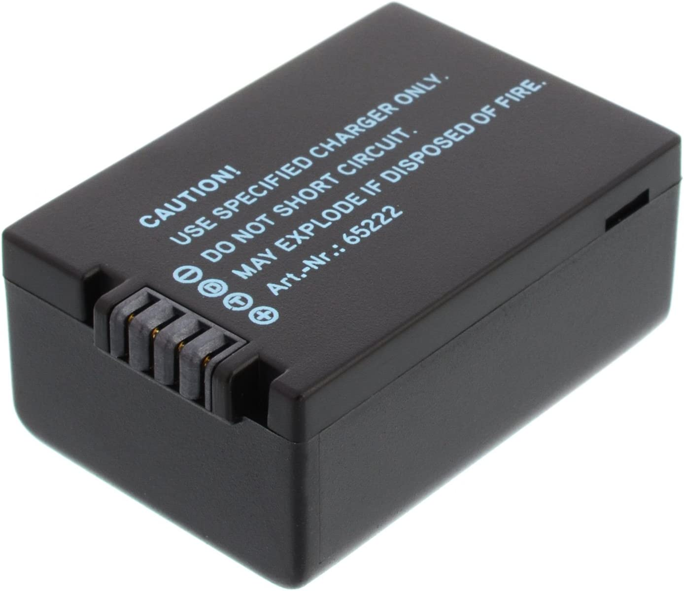 blumax Bater/ía Panasonic DMW-BMB9 DMW-BMB9E 890mAh Adaptado para Panasonic Lumix DMC-FZ40-FZ45-FZ47-FZ48-FZ60-FZ62-FZ70-FZ72-FZ100-FZ150 Leica V-Lux 2//3