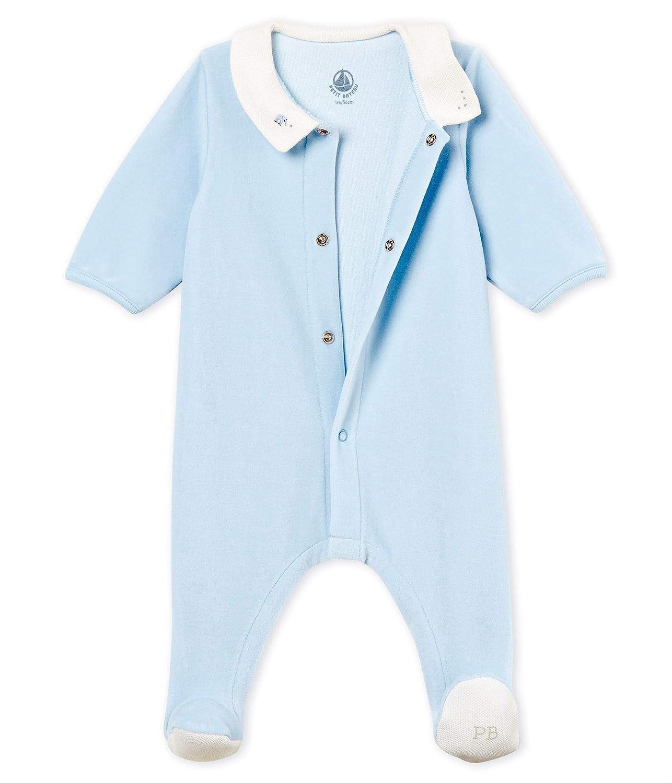 Petit Bateau Baby-Jungen Biche Schlafstrampler