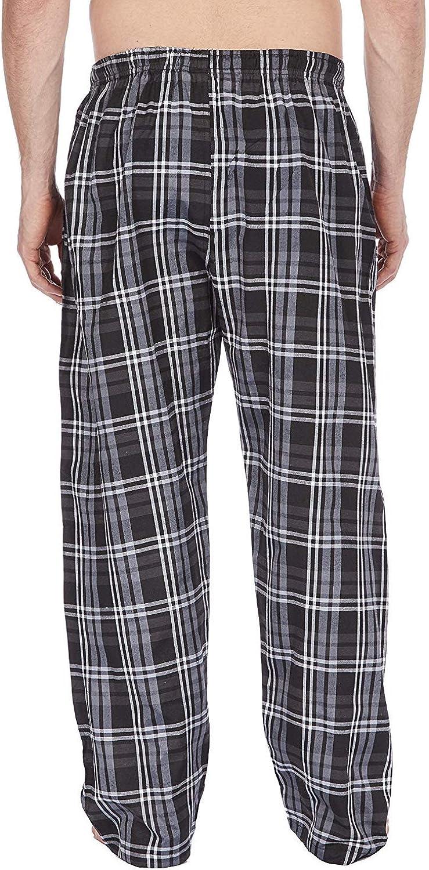 Insignia Hommes Coton Polyester Pyjama Pantalon de D/étente Bas Carreaux Pack 2