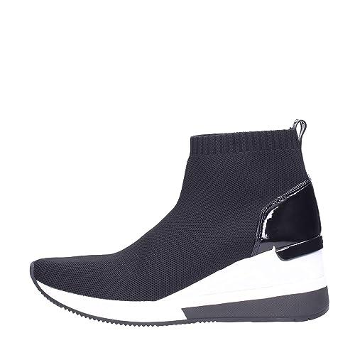Michael Kors Skyler Bootie Mujer Zapatillas Negro: Amazon.es: Zapatos y complementos