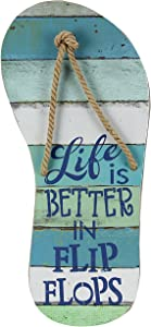 """Young's 15675 Wood Life is Better Wall Decorative Sign, 9.75"""" x 22.75"""" x 1.5"""""""