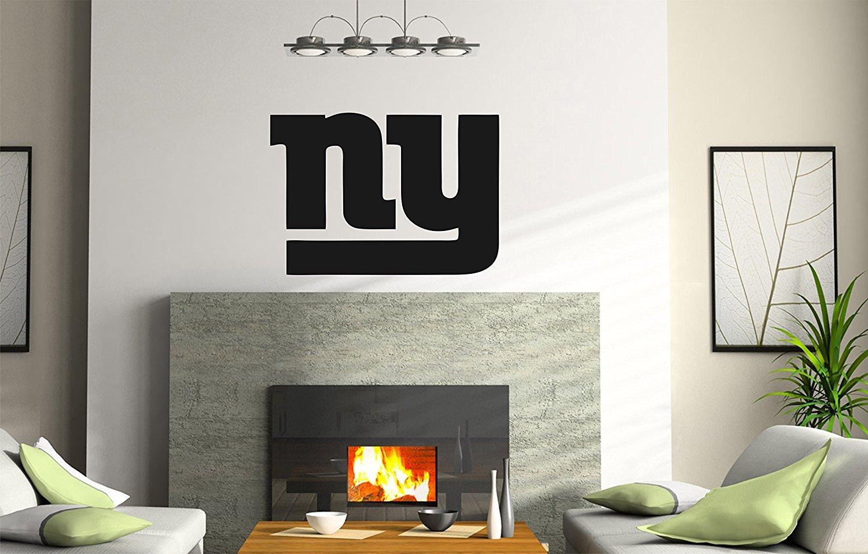 AdecalsNew B NCAA New York NY Giants logo Wall Decal Vinyl Sticker mural graphics home decor NFL fan room customization 4335