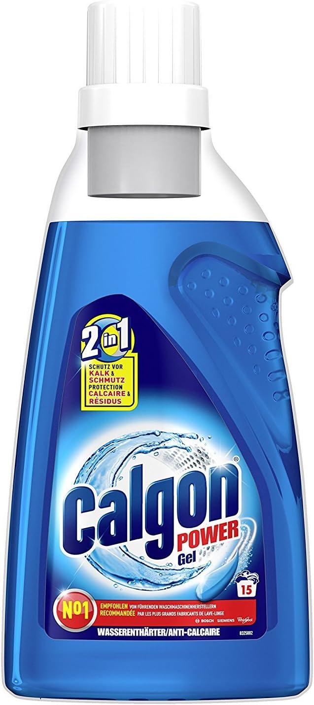 Calgon Antical Gel 2 en 1, Gel antiescalado, pack de 3x 750 ml ...