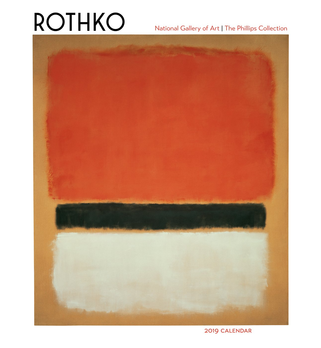 Rothko 2019 Wall Calendar: National Gallery of Art and The Phillips  Collection: 9780764980107: Amazon.com: Books