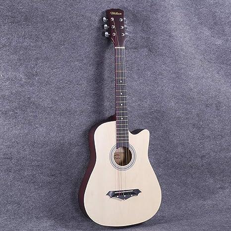 Boll-ATur Guitarra acústica for principiantes de tamaño completo ...
