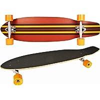 NICK AND BEN® Sportline Longboard Cruiser Skateboard