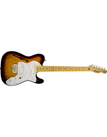 Squier by Fender Vintage Modified 72 Thinline Telecaster Electric Guitar - Natural - Maple Fingerboard