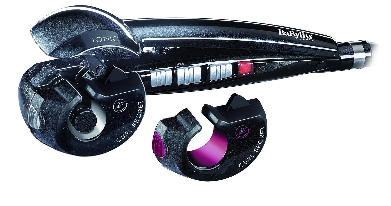 BaByliss C1300E Curl Secret 2 - Rizador de pelo automático con 2 cabezales, 100% automático, doble calentador cerámico, consigue rizos, bucles y todo ...