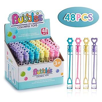 Amazon.com: Doity - Juego de 48 mini bandas de burbujas ...