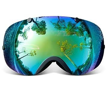 interchangeable ski goggles  Amazon.com : COPOZZ GOG-203 Ski Goggles Anti-fog Snowboard ...
