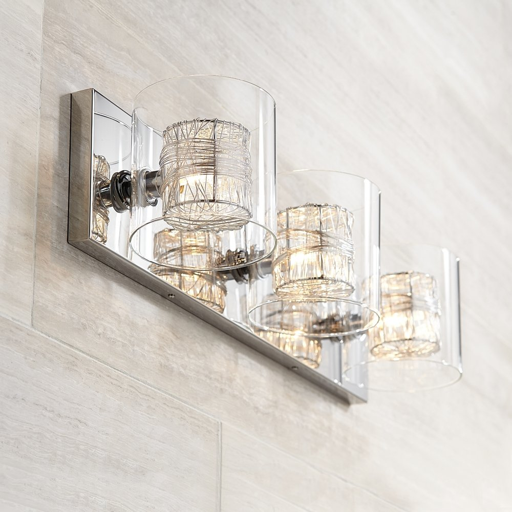 bathroom lighting fixture. possini euro design wrapped wire 22 bathroom lighting fixture