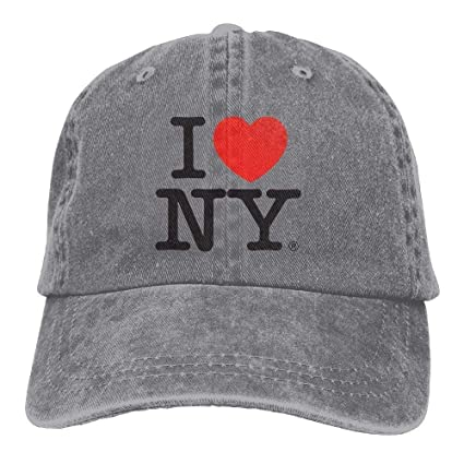 15f5455fecb Image Unavailable. Image not available for. Color  Personality Caps Hats I  Love New York Casual ...