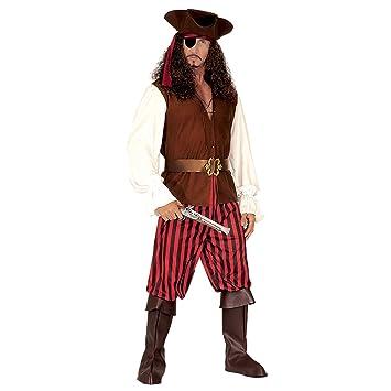 WIDMANN Widman - Disfraz de pirata para hombre, talla L (44393 ...