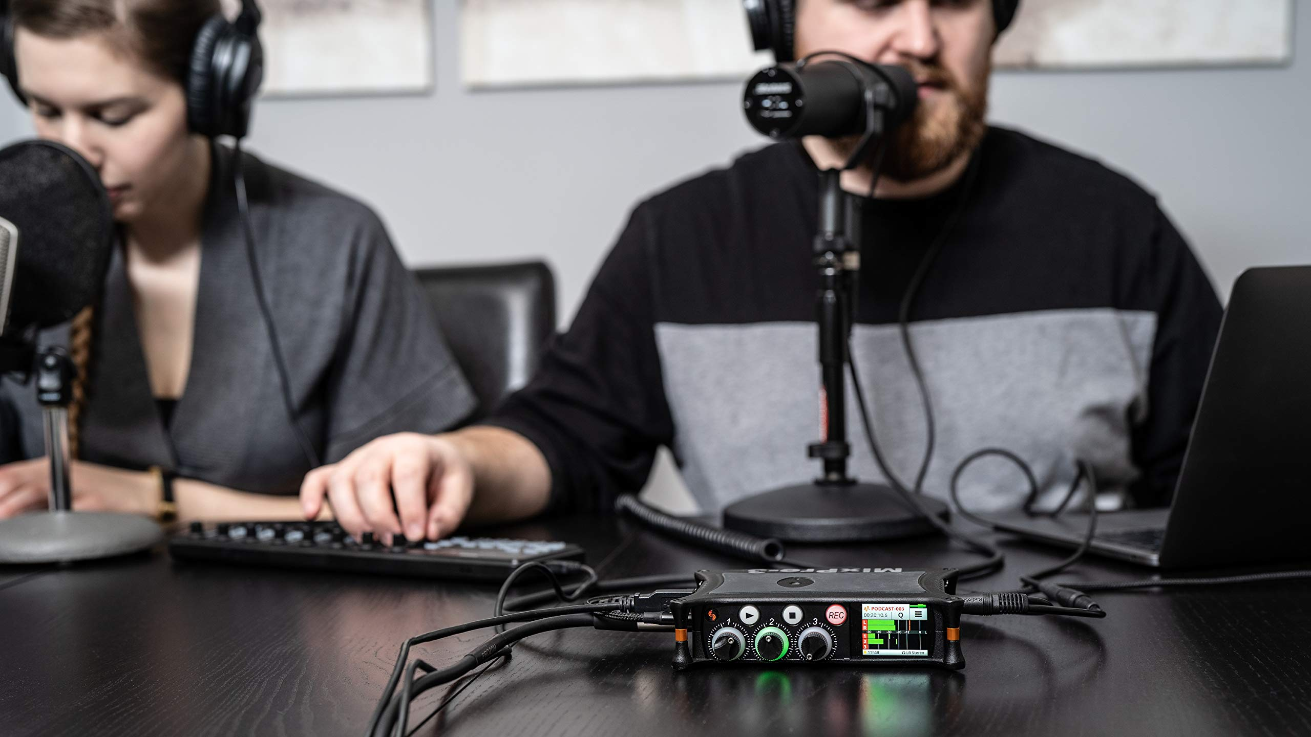 Sound Devices MixPre-3 Portable Multichannel Audio Recorder/Mixer, and USB Audio Interface by Sound Devices (Image #2)