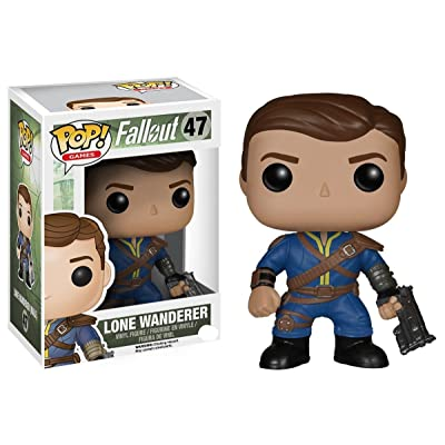 Funko POP Games: Fallout - Lone Wanderer Male Action Figure: Funko Pop! Games:: Toys & Games