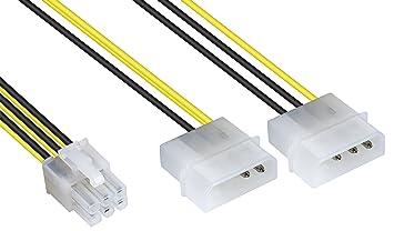 Poppstar - Cable de alimentación de la Tarjeta gráfica PCI ...
