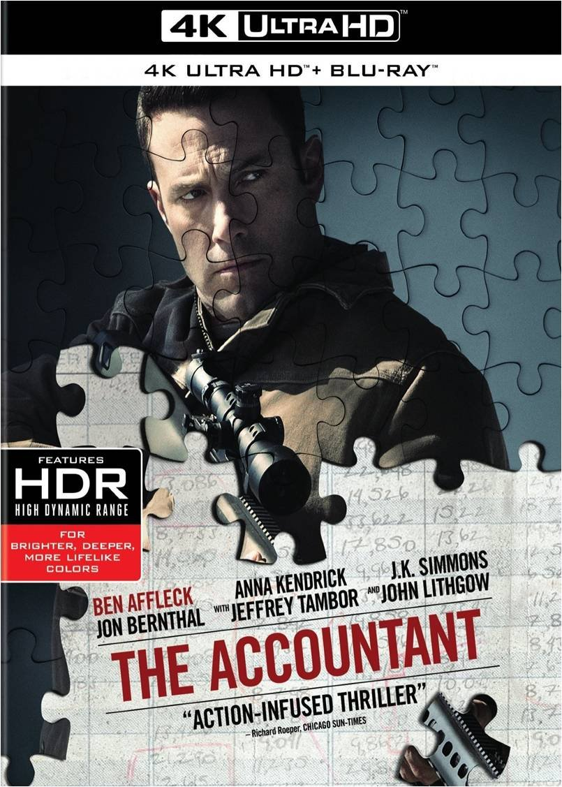 The Accountant 4 K Ultra Hd by Amazon