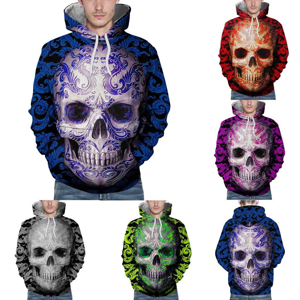 BESSKY Sweatshirt Capuche, Couple Printemps Impression 3D Dé contracté e pour L'Automne Et l'hiver Hoodies Couple Printemps Impression 3D Décontractée pour L' Automne Et l' hiver Hoodies