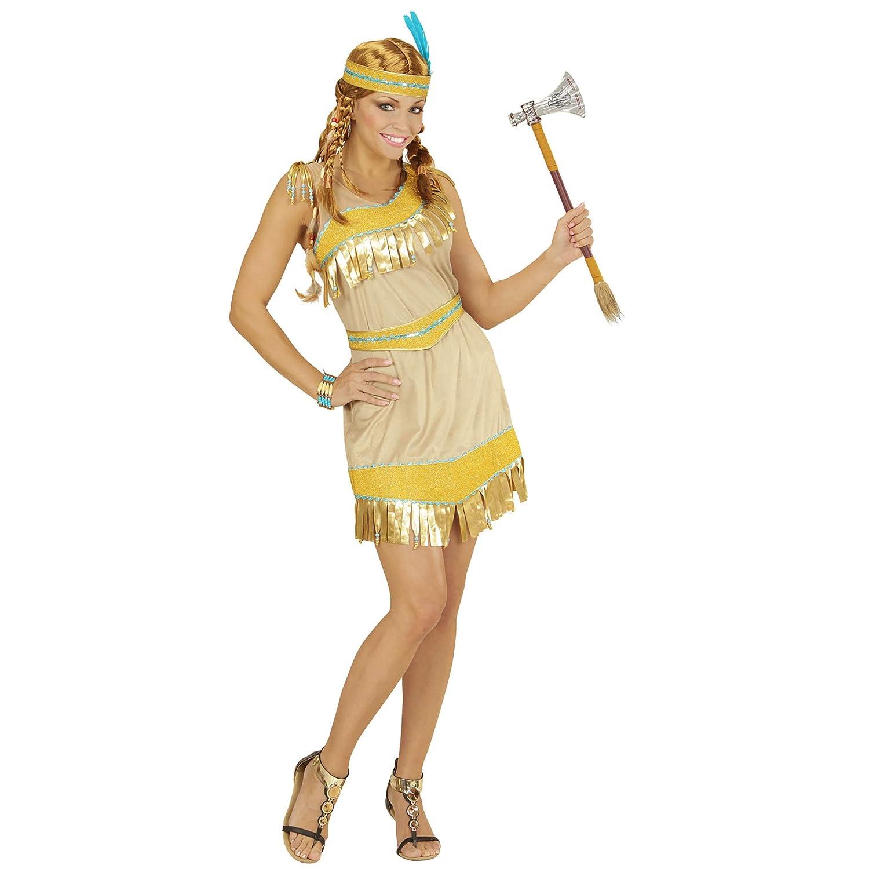 WIDMANN - Disfraz para mujer India, talla S (2281): Amazon.es ...
