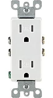 Miraculous Leviton 5325 Wmp 15 Amp 125 Volt Decora Duplex Receptacle Wiring Digital Resources Instshebarightsorg
