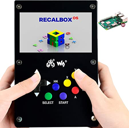 GamePi43 Portable Video Game Console 4.3 inch IPS Display 800×480 Raspberry Pi
