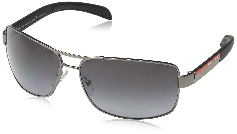 Amazon.com: Prada Linea Rossa PS54IS 5AV5 65mm Sunglasses: Shoes