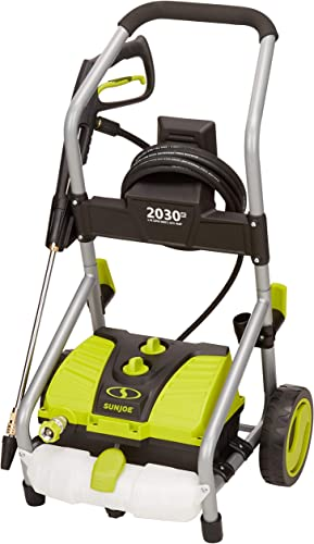 Sun Joe SPX4000-PRO 2030 PSI 1.76 GPM 14.5-Amp Electric Pressure Washer, w Turbo Head Spray Nozzle Renewed
