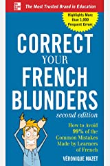 Correct Your French Blunders Kindle Edition