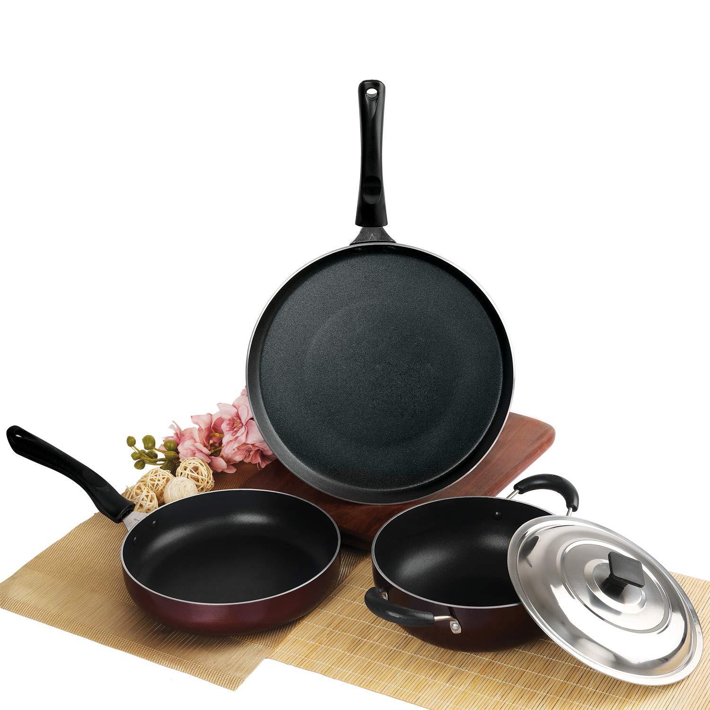 Cello Prima Solitaire Series Non Stick 3Pc Cookware Set