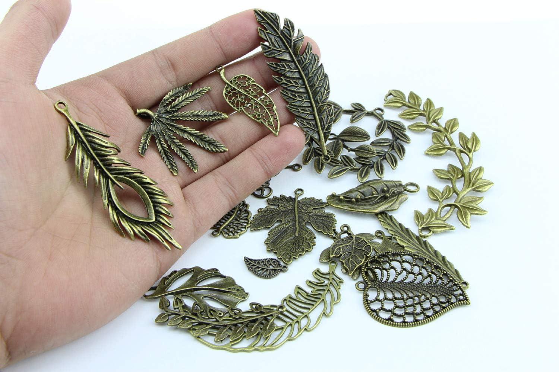 Style antique vintage En bronze et argent Breloque vintage 100 g en forme darbre de vie Fait /à la main