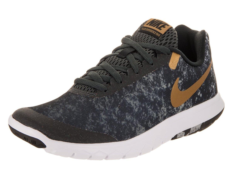 NIKE Women's Flex Experience RN 6 Running Shoe B01N0A8ZT0 11 B(M) US|Black/Gold-m