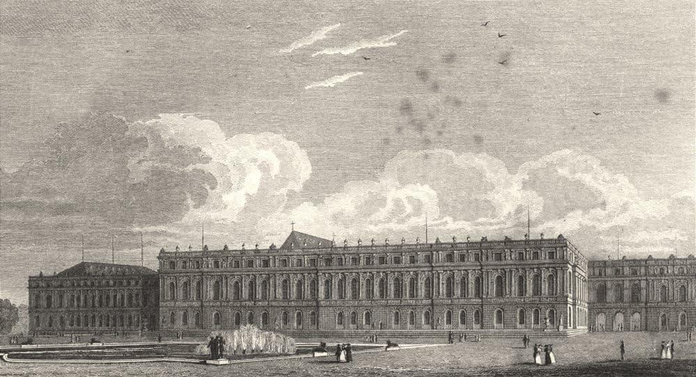 Amazon Com Yvelines Palais De Versailles Facade Du Jardin