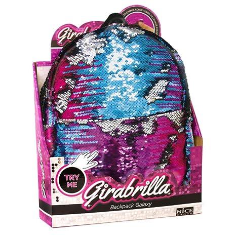 molto carino 91cd7 51bd9 GIRABRILLA MINI ZAINO ZAINETTO Backpack Galaxi paillettes ...