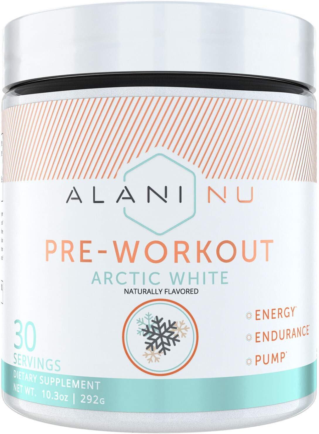 Alani Nu Pre-Workout – Arctic White